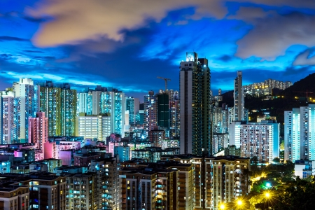 Urban city in Hong Kong