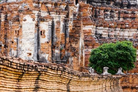Historic temple in Ayutthaya, Thailand  photo