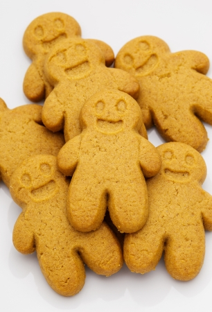 Pile of Gingerbread cookies  photo