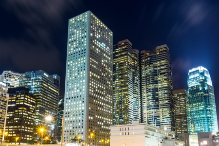 edificio corporativo: Corporate edificio en Hong Kong  Editorial
