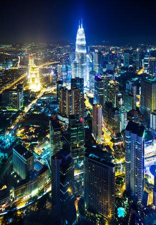 klcc: Cityscape in Kuala Lumpur