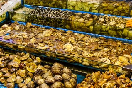 Seafood market fish tank Stock Photo - 23694583