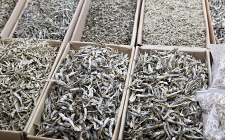 anchovy: Dried assorted anchovy fish