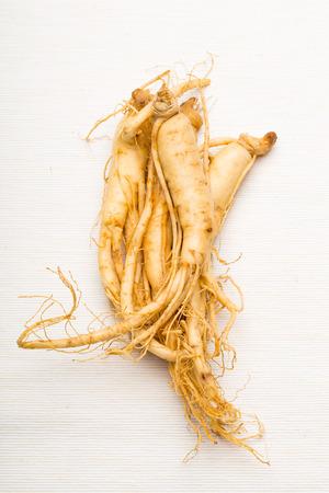 Fresh Ginseng Zdjęcie Seryjne