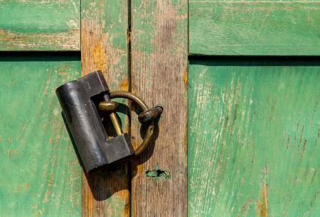 A door lock photo