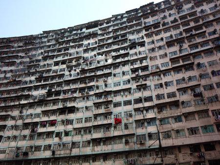 Hong Kong old building Stock Photo - 24075226
