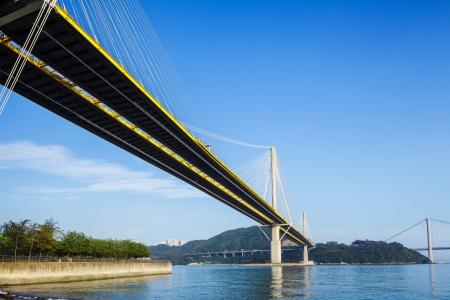 blue bridge Imagens