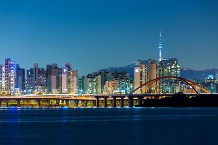 Seoul: Seoul skyline