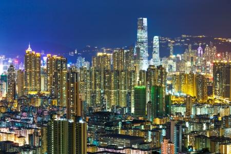 Urban city in Hong Kong Stock Photo - 24180242