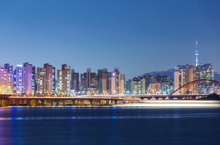 Seoul skyline photo