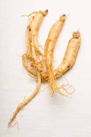 Fresh ginseng photo