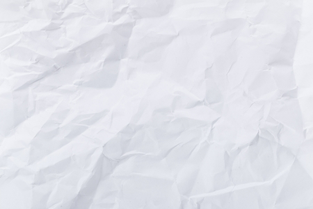 crumple: White crumple paper