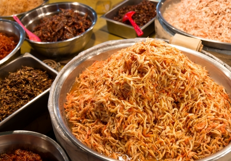 appetiser: Korean appetiser in food market