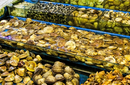 Seafood market Stock Photo - 24283369