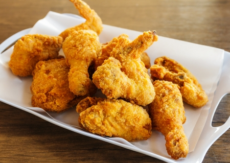 Crispy chicken photo