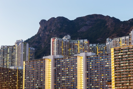 Kowloon residential district photo