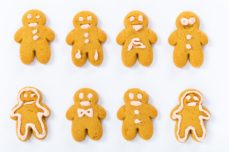 Homemade Gingerbread cookies photo
