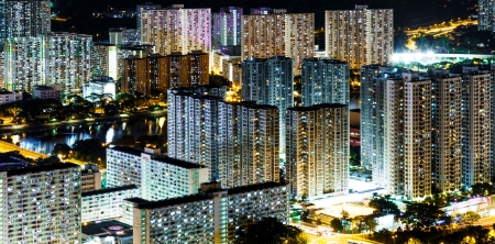 Hong Kong public housing photo