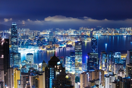 Hong Kong late night