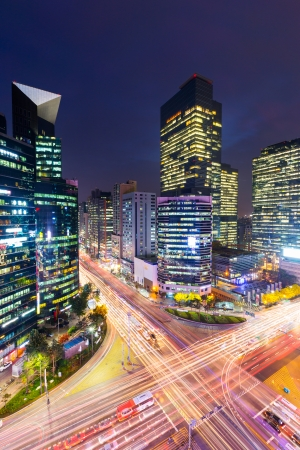Gangnam district in Seoul