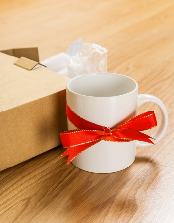 worst: Worst gift, cup Stock Photo