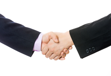 Business handshake photo