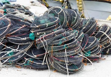 fischerei: Falle zum Fischfang Lizenzfreie Bilder