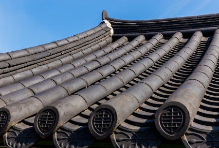 eaves: Traditional korean architecture roof eaves
