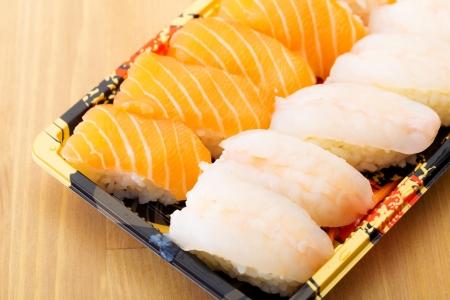 Assorted Japanese sushi photo