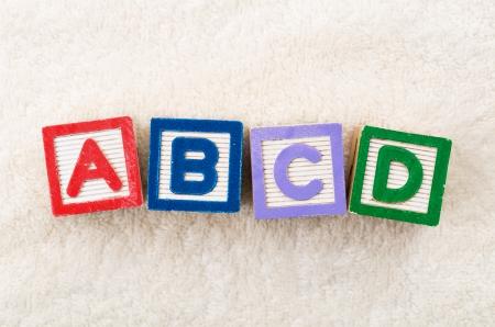 abcd: ABCD toy block