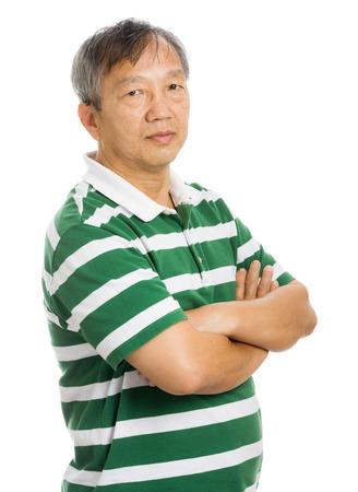 asian old man: Asian old man portrait