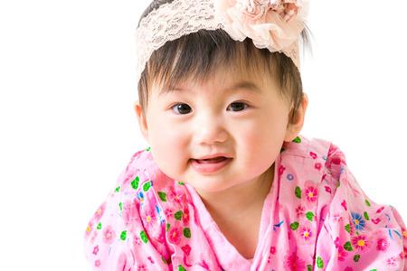 Asian baby girl photo