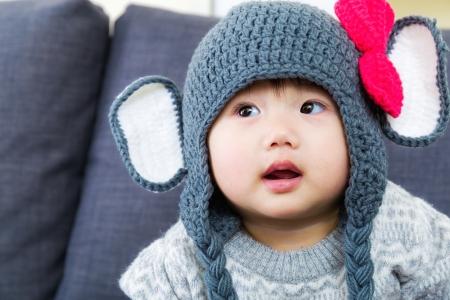 asian baby girl: Asian little girl Stock Photo