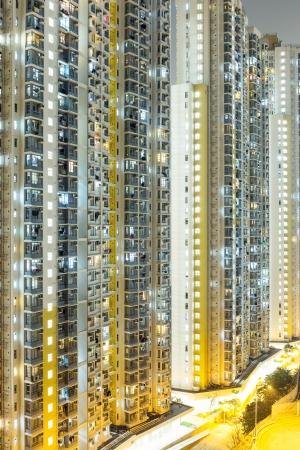 Public housing in Hong Kong photo