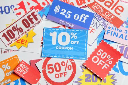 penny pinching: Shopping coupons