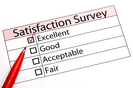 Customer service evaluation form photo