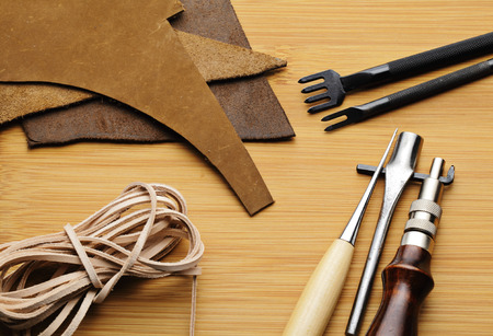 Leather craft tool photo