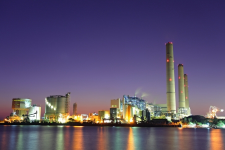 cement chimney: Electricity power station