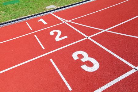 running track: Athletics stadium running track