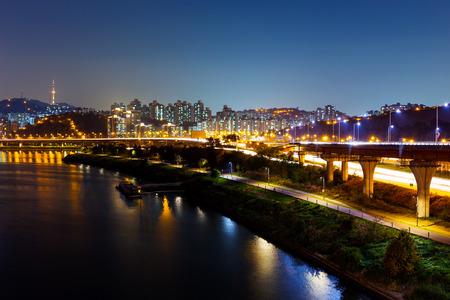 Han river in Seoul photo