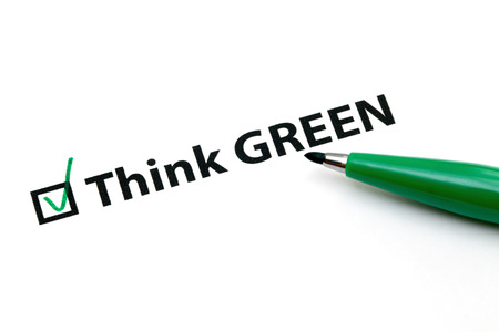 Checklist option for think green photo