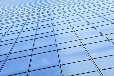 glass building: Exterior modern building Stock Photo