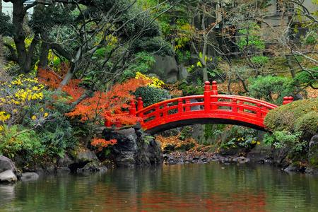 Japanse tuin Stockfoto