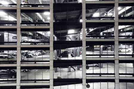carpark: Carpark building Editorial