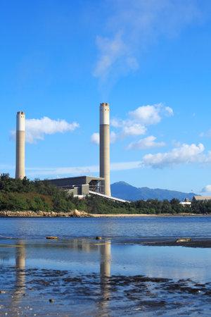 Coal plant and sea
