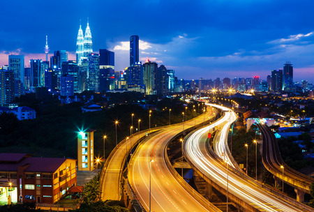 Kuala Lumpur skyline Editorial