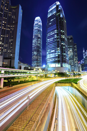 Hong Kong downtown photo