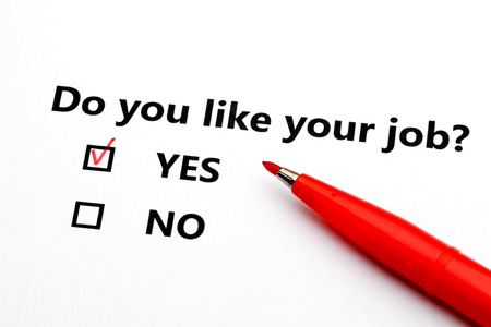 Do you like your job? photo