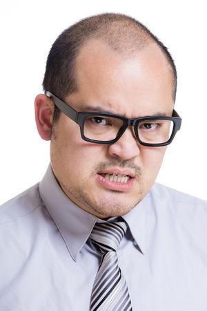 empresario enojado: Hombre de negocios enojado