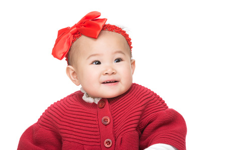 Baby girl portrait photo